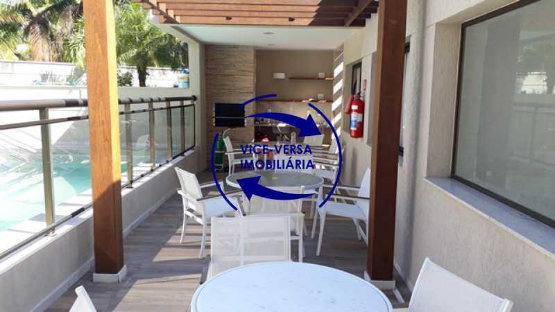 piscina-churrasqueira - EXCLUSIVIDADE!!! Apartamento À venda no Condomínio Rossi Litorâneo - 92m², 3 quartos (2 suítes), copa-cozinha, lavanderia e banheiro de serviço, vagas, infraestrutura completa! - 1332 - 5
