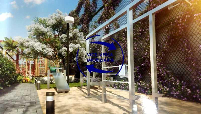 playground - EXCLUSIVIDADE!!! Apartamento À venda no Condomínio Rossi Litorâneo - 92m², 3 quartos (2 suítes), copa-cozinha, lavanderia e banheiro de serviço, vagas, infraestrutura completa! - 1332 - 10