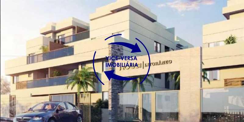 fachada - EXCLUSIVIDADE!!! Apartamento À venda no Condomínio Rossi Litorâneo - 92m², 3 quartos (2 suítes), copa-cozinha, lavanderia e banheiro de serviço, vagas, infraestrutura completa! - 1332 - 3