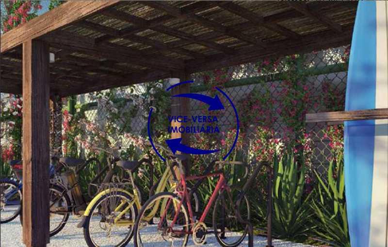 bicicletario - EXCLUSIVIDADE!!! Apartamento À venda no Condomínio Rossi Litorâneo - 92m², 3 quartos (2 suítes), copa-cozinha, lavanderia e banheiro de serviço, vagas, infraestrutura completa! - 1332 - 9