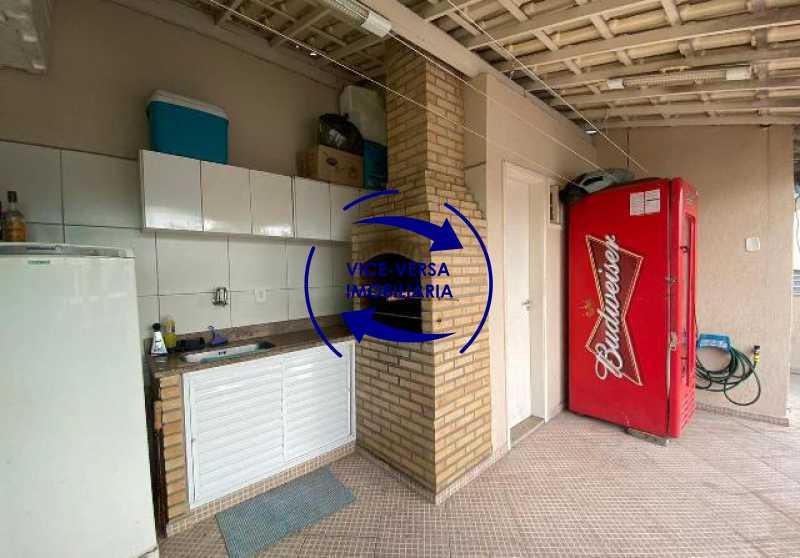 terraco-espaco-gourmet - Casa triplex À venda em Vila Valqueire - sala, lavabo, 3 quartos, 1 suíte, copa-cozinha, piscina, 2 vagas de garagem. - 1352 - 25