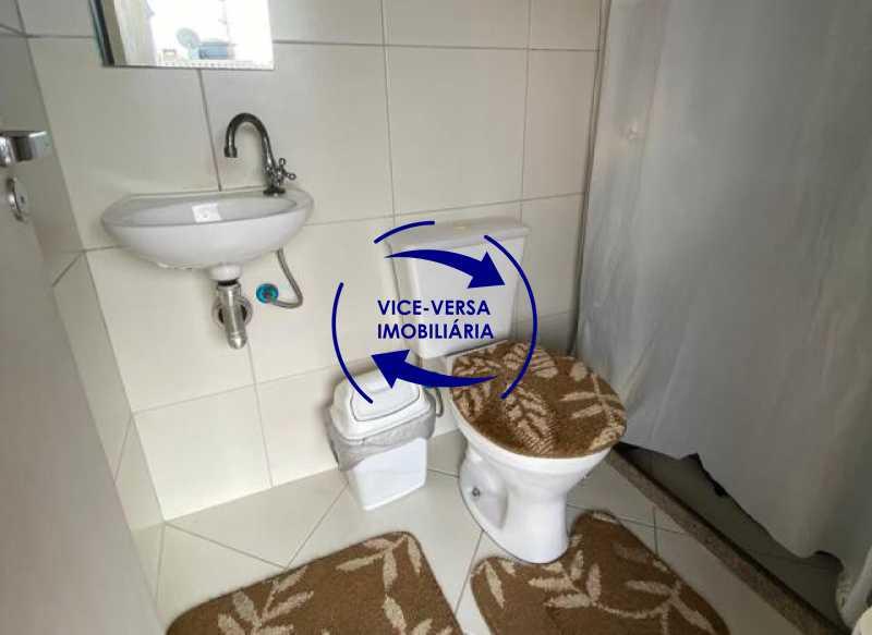 terraco-banheiro - Casa triplex À venda em Vila Valqueire - sala, lavabo, 3 quartos, 1 suíte, copa-cozinha, piscina, 2 vagas de garagem. - 1352 - 26