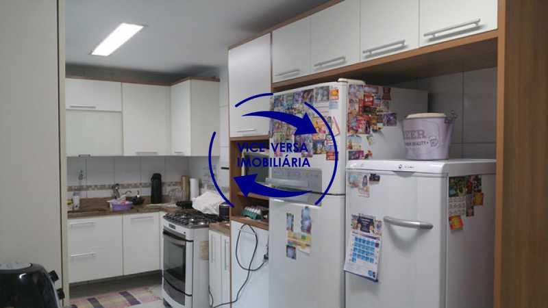 cozinha - Casa triplex À venda em Vila Valqueire - sala, lavabo, 3 quartos, 1 suíte, copa-cozinha, piscina, 2 vagas de garagem. - 1352 - 9