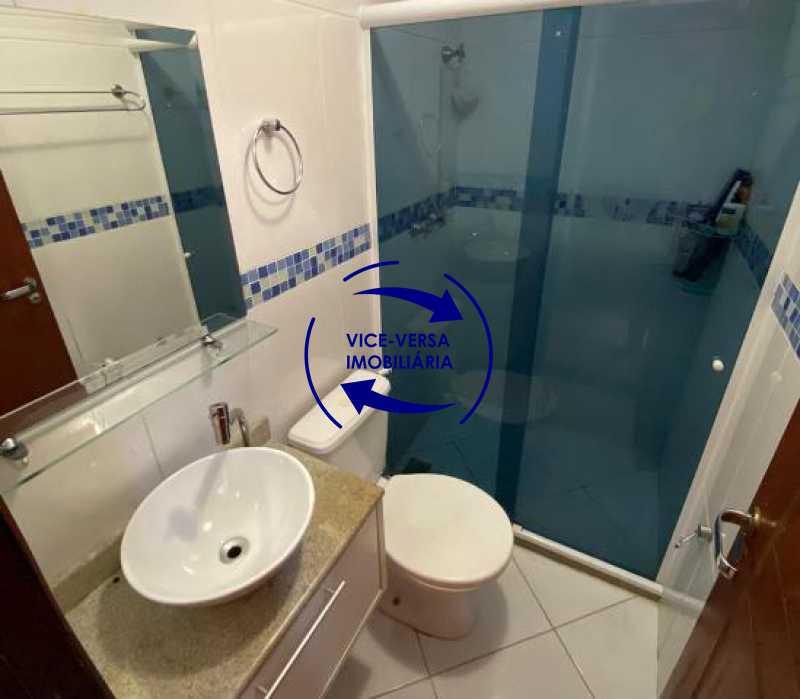 2ºpiso-banheiro-social - Casa triplex À venda em Vila Valqueire - sala, lavabo, 3 quartos, 1 suíte, copa-cozinha, piscina, 2 vagas de garagem. - 1352 - 19