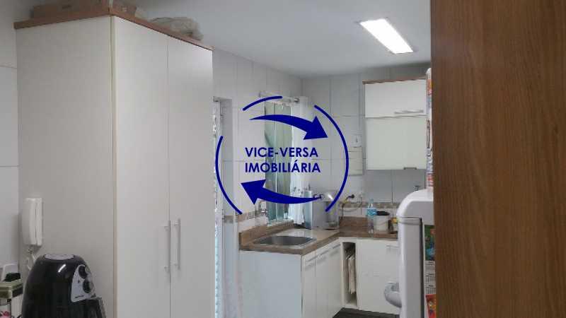 cozinha - Casa triplex À venda em Vila Valqueire - sala, lavabo, 3 quartos, 1 suíte, copa-cozinha, piscina, 2 vagas de garagem. - 1352 - 10