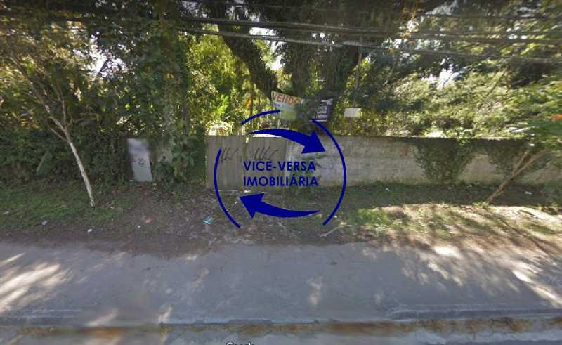 fachada-terreno - Terreno À venda na Estrada dos Bandeirantes, 3.300m², em Vargem Grande! - 1348 - 4