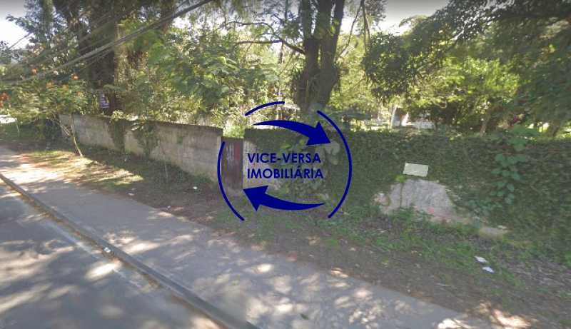 fachada-terreno - Terreno À venda na Estrada dos Bandeirantes, 3.300m², em Vargem Grande! - 1348 - 6