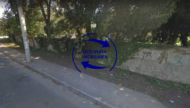 fachada-terreno - Terreno À venda na Estrada dos Bandeirantes, 3.300m², em Vargem Grande! - 1348 - 5