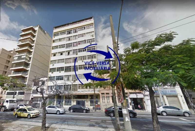 fachada - EXCLUSIVIDADE!!! Apartamento À venda em Vila Isabel - Visc. de Sta. Isabel, amplo, boa planta, 2 quartos, andar baixo, vista livre! - 1355 - 1