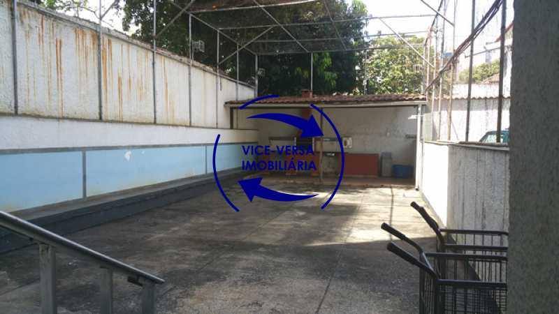 churrasqueira - EXCLUSIVIDADE!!! Apartamento À venda em Vila Isabel - Visc. de Sta. Isabel, amplo, boa planta, 2 quartos, andar baixo, vista livre! - 1355 - 23