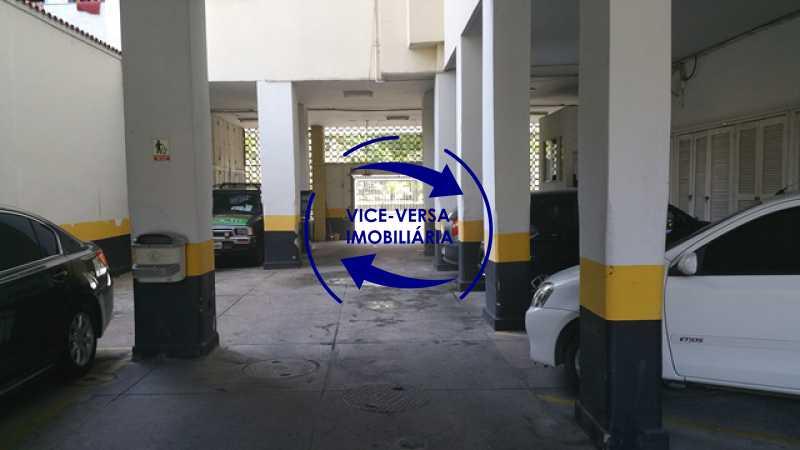 estacionamento - EXCLUSIVIDADE!!! Apartamento À venda em Vila Isabel - Visc. de Sta. Isabel, amplo, boa planta, 2 quartos, andar baixo, vista livre! - 1355 - 25
