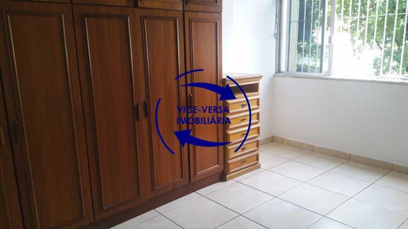 primeiro-quarto - EXCLUSIVIDADE!!! Apartamento À venda em Vila Isabel - Visc. de Sta. Isabel, amplo, boa planta, 2 quartos, andar baixo, vista livre! - 1355 - 8