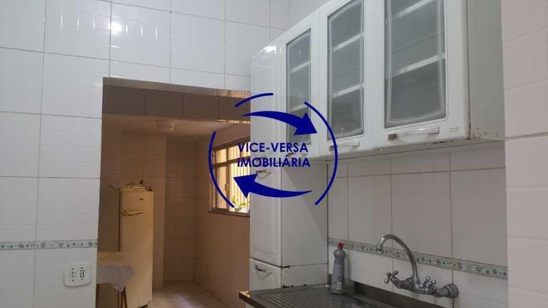 cozinha - EXCLUSIVIDADE!!! Apartamento À venda em Vila Isabel - Visc. de Sta. Isabel, amplo, boa planta, 2 quartos, andar baixo, vista livre! - 1355 - 17