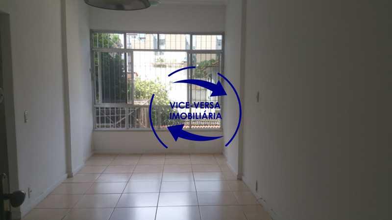 sala - EXCLUSIVIDADE!!! Apartamento À venda em Vila Isabel - Visc. de Sta. Isabel, amplo, boa planta, 2 quartos, andar baixo, vista livre! - 1355 - 6
