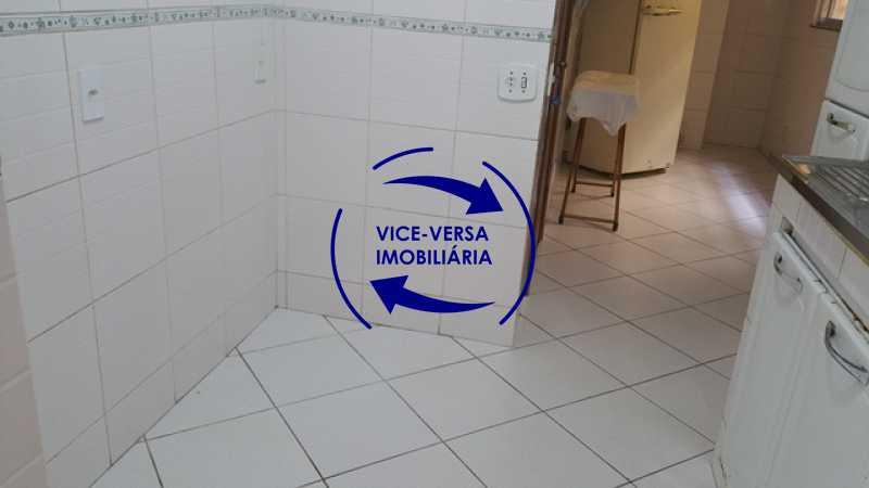 cozinha - EXCLUSIVIDADE!!! Apartamento À venda em Vila Isabel - Visc. de Sta. Isabel, amplo, boa planta, 2 quartos, andar baixo, vista livre! - 1355 - 18
