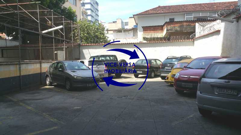 estacionamento - EXCLUSIVIDADE!!! Apartamento À venda em Vila Isabel - Visc. de Sta. Isabel, amplo, boa planta, 2 quartos, andar baixo, vista livre! - 1355 - 24