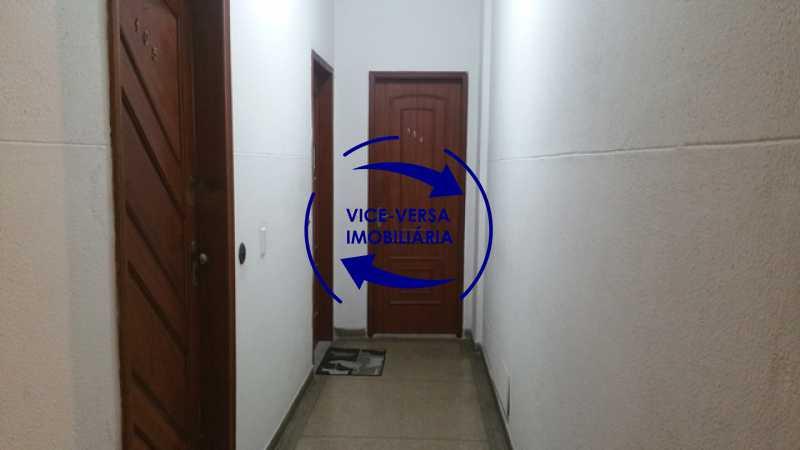 entrada-do-apartamento - EXCLUSIVIDADE!!! Apartamento À venda em Vila Isabel - Visc. de Sta. Isabel, amplo, boa planta, 2 quartos, andar baixo, vista livre! - 1355 - 4