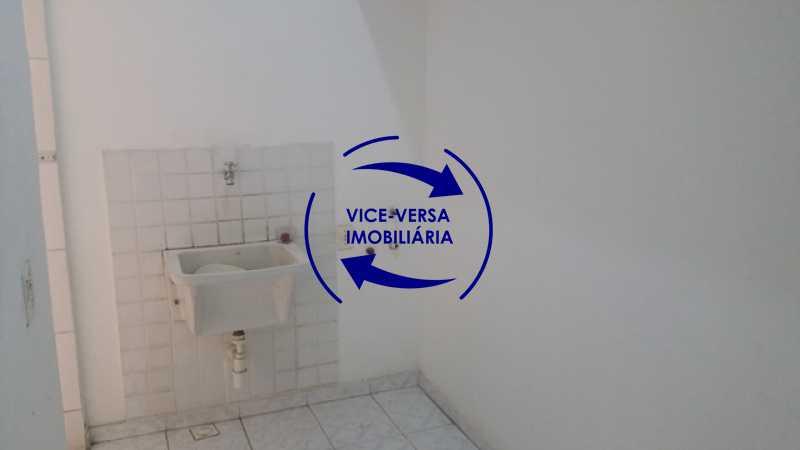 lavanderia - EXCLUSIVIDADE!!! Apartamento À venda em Vila Isabel - Visc. de Sta. Isabel, amplo, boa planta, 2 quartos, andar baixo, vista livre! - 1355 - 19