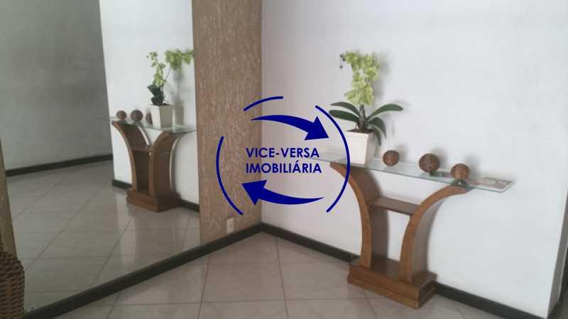portaria - EXCLUSIVIDADE!!! Apartamento À venda em Vila Isabel - Visc. de Sta. Isabel, amplo, boa planta, 2 quartos, andar baixo, vista livre! - 1355 - 3