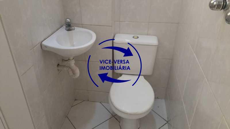 banheiro-de-empregada - EXCLUSIVIDADE!!! Apartamento À venda em Vila Isabel - Visc. de Sta. Isabel, amplo, boa planta, 2 quartos, andar baixo, vista livre! - 1355 - 21