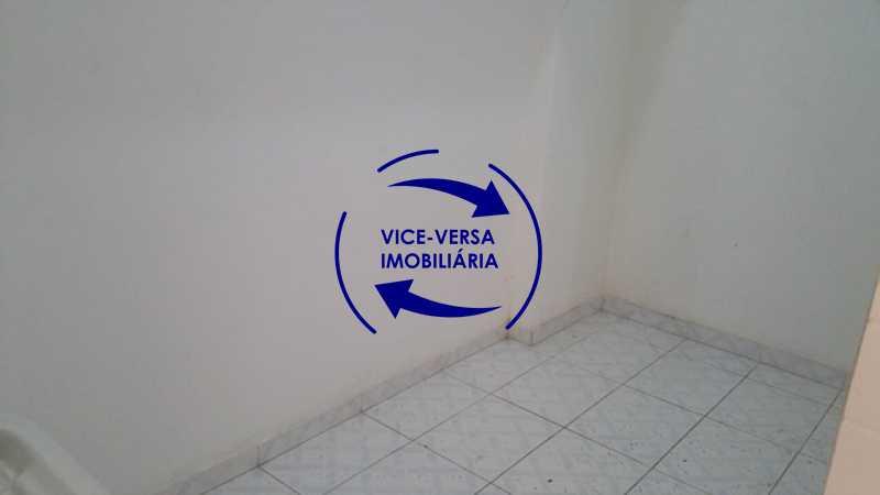 lavanderia - EXCLUSIVIDADE!!! Apartamento À venda em Vila Isabel - Visc. de Sta. Isabel, amplo, boa planta, 2 quartos, andar baixo, vista livre! - 1355 - 20