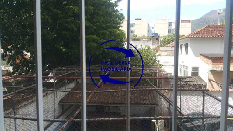 vista-das-janelas - EXCLUSIVIDADE!!! Apartamento À venda em Vila Isabel - Visc. de Sta. Isabel, amplo, boa planta, 2 quartos, andar baixo, vista livre! - 1355 - 13