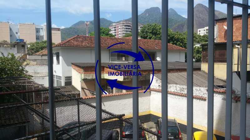 vista-das-janelas - EXCLUSIVIDADE!!! Apartamento À venda em Vila Isabel - Visc. de Sta. Isabel, amplo, boa planta, 2 quartos, andar baixo, vista livre! - 1355 - 14