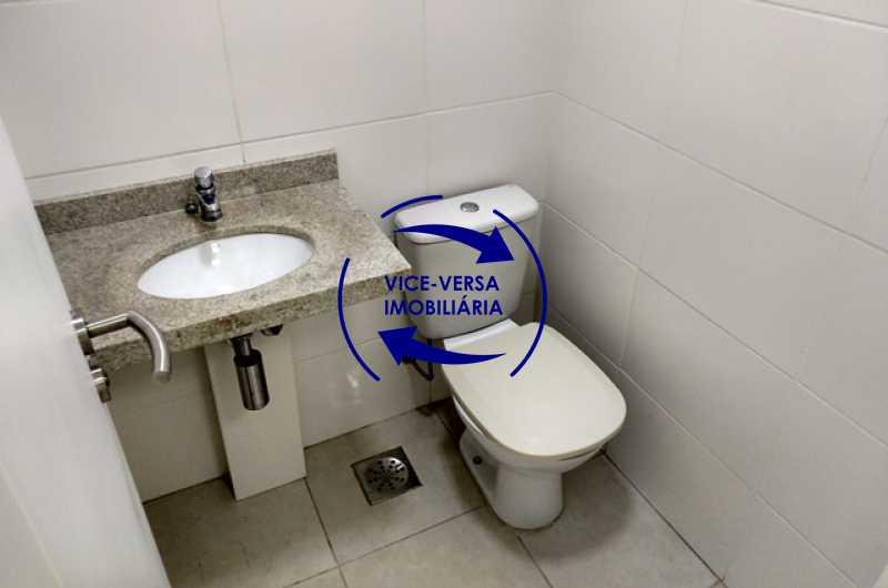 banheiro - EXCLUSIVIDADE!!! Sala comercial À venda no Condomínio Porto Atlântico Leste - 34m², sistema de alarme e ar condicionado, infraestrutura de primeiro mundo! - 1357 - 10