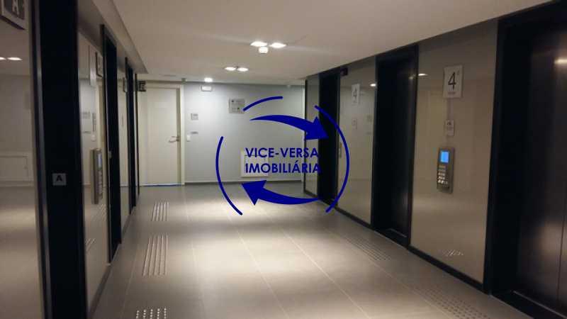 hall-do-elevador - EXCLUSIVIDADE!!! Sala comercial À venda no Condomínio Porto Atlântico Leste - 34m², sistema de alarme e ar condicionado, infraestrutura de primeiro mundo! - 1357 - 6