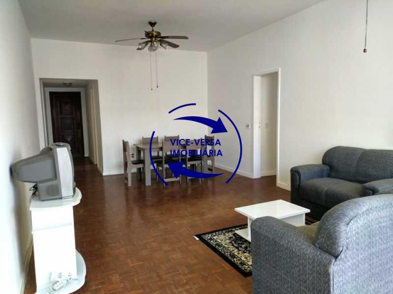 sala-2-ambientes - Apartamento À venda na Tijuca - parte nobre, 3 quartos (1 suíte), vaga! - 1048 - 10