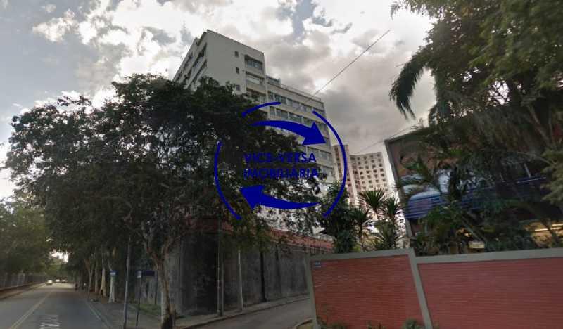 fachada - Ótimo apartamento, vazio, Rua do Parque, ao lado Quinta da Boa Vista, próximo Estação São Cristóvão (Metrô, Supervia). Sala, 2 quartos, vista livre, vaga, ótimo condomínio com segurança. - 1364 - 3