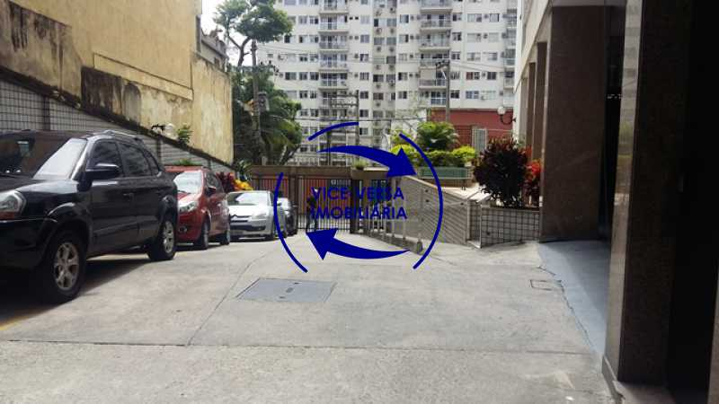 interior - Ótimo apartamento, vazio, Rua do Parque, ao lado Quinta da Boa Vista, próximo Estação São Cristóvão (Metrô, Supervia). Sala, 2 quartos, vista livre, vaga, ótimo condomínio com segurança. - 1364 - 17