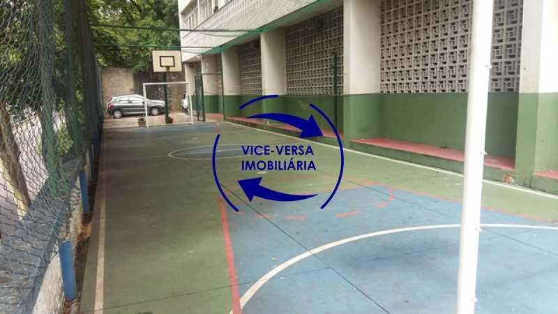 playground-quadra - Ótimo apartamento, vazio, Rua do Parque, ao lado Quinta da Boa Vista, próximo Estação São Cristóvão (Metrô, Supervia). Sala, 2 quartos, vista livre, vaga, ótimo condomínio com segurança. - 1364 - 23