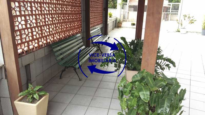 playground-area-coberta - Ótimo apartamento, vazio, Rua do Parque, ao lado Quinta da Boa Vista, próximo Estação São Cristóvão (Metrô, Supervia). Sala, 2 quartos, vista livre, vaga, ótimo condomínio com segurança. - 1364 - 16