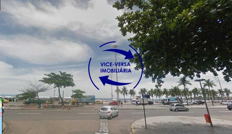 praia - Ótimo investimento! Apartamento com 100m², Rua Xavier da Silveira, 1 quadra da Praia de Copacabana, 2 quadras do Metrô Cantagalo. Sala, 3 quartos com dependências completas de empregada. - 1363 - 5