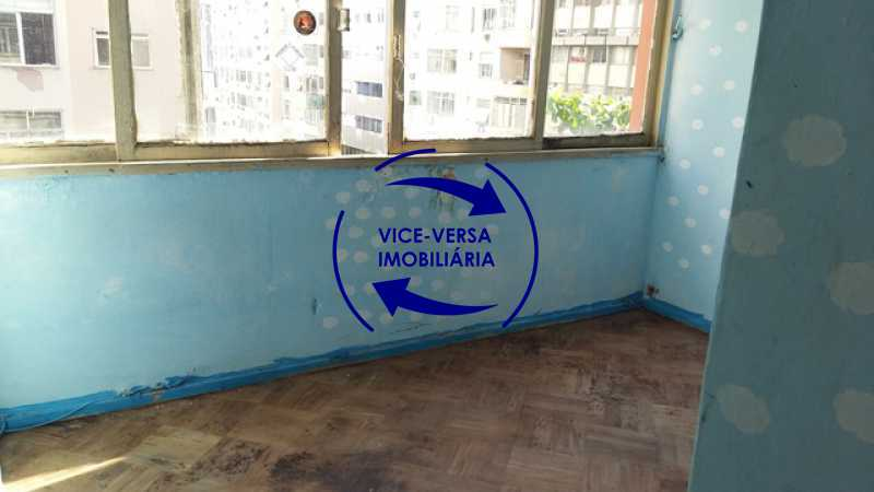 segundo-quarto - Ótimo investimento! Apartamento com 100m², Rua Xavier da Silveira, 1 quadra da Praia de Copacabana, 2 quadras do Metrô Cantagalo. Sala, 3 quartos com dependências completas de empregada. - 1363 - 20