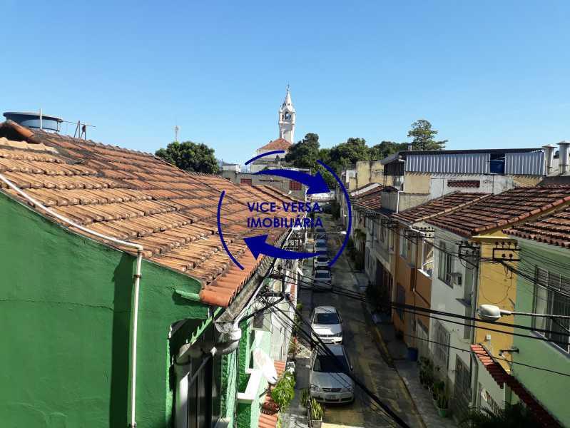 02_vista - Apartamento tipo casa em Cascadura, próximo À Rua Carolina Machado (estação), sala e quarto com quarto de empregada - 56m² - 1370 - 3