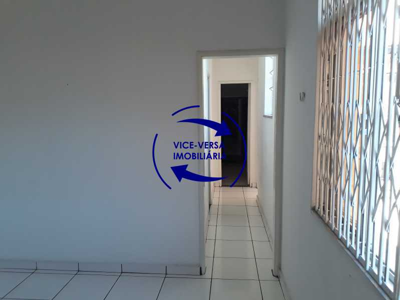 03_sala - Apartamento tipo casa em Cascadura, próximo À Rua Carolina Machado (estação), sala e quarto com quarto de empregada - 56m² - 1370 - 4
