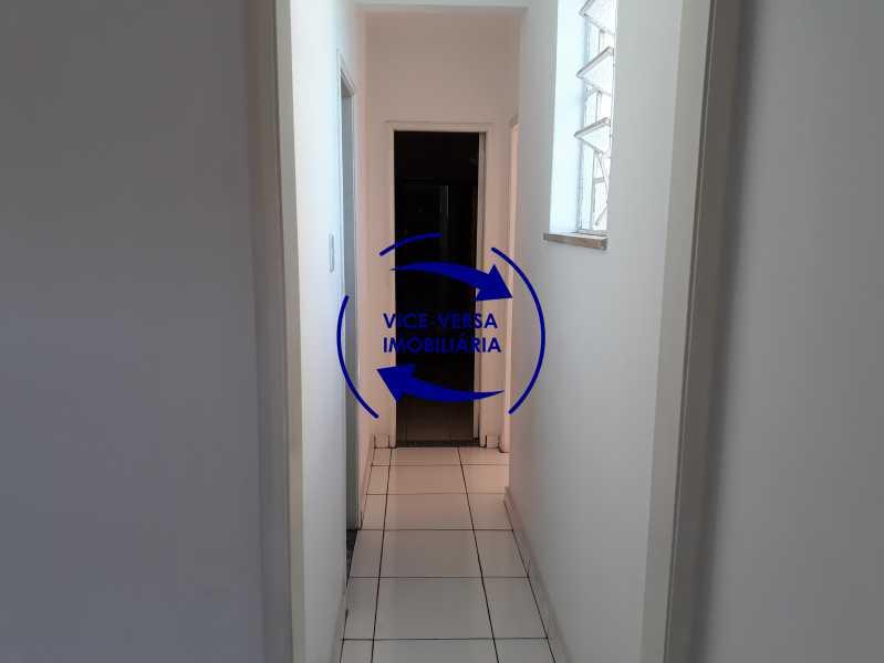 04_circulação - Apartamento tipo casa em Cascadura, próximo À Rua Carolina Machado (estação), sala e quarto com quarto de empregada - 56m² - 1370 - 5