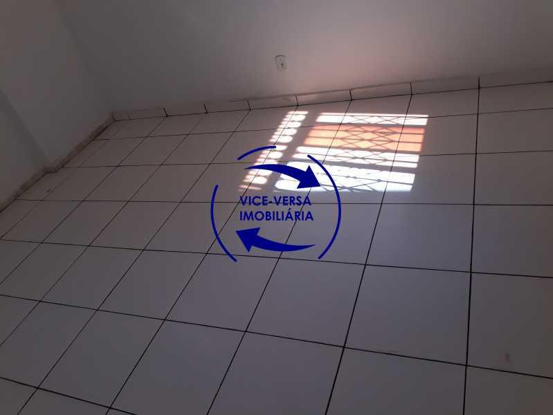 05_quarto - Apartamento tipo casa em Cascadura, próximo À Rua Carolina Machado (estação), sala e quarto com quarto de empregada - 56m² - 1370 - 6