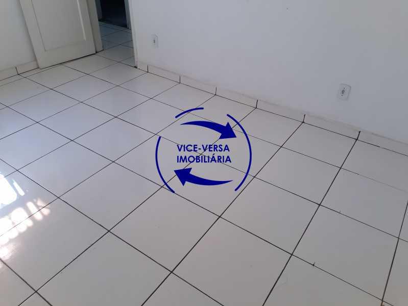 06_quarto - Apartamento tipo casa em Cascadura, próximo À Rua Carolina Machado (estação), sala e quarto com quarto de empregada - 56m² - 1370 - 7