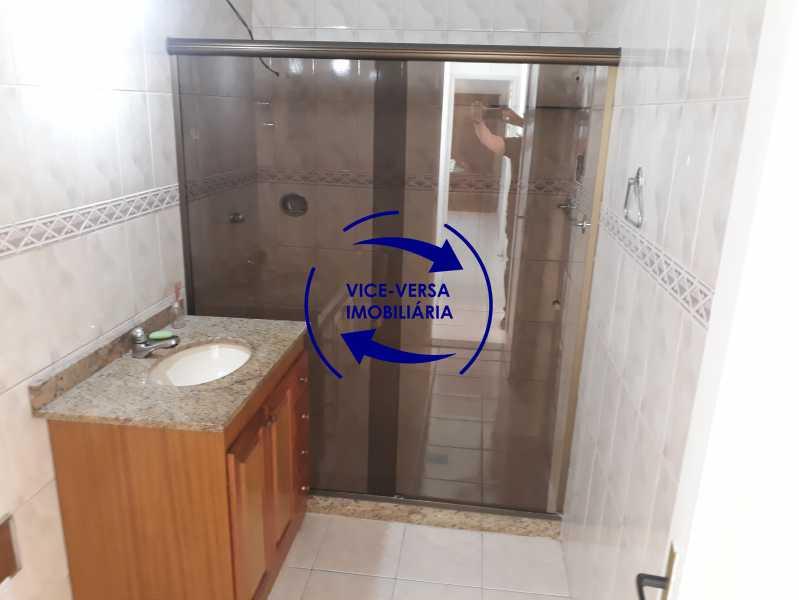 07_banheiro social - Apartamento tipo casa em Cascadura, próximo À Rua Carolina Machado (estação), sala e quarto com quarto de empregada - 56m² - 1370 - 8