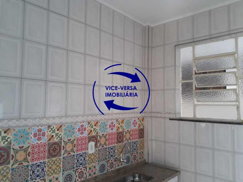 12_cozinha - Apartamento tipo casa em Cascadura, próximo À Rua Carolina Machado (estação), sala e quarto com quarto de empregada - 56m² - 1370 - 13