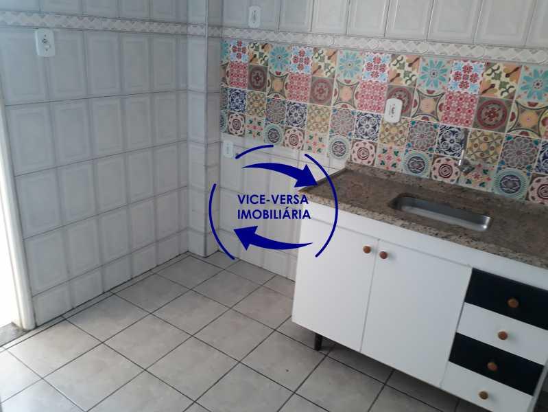 13_cozinha - Apartamento tipo casa em Cascadura, próximo À Rua Carolina Machado (estação), sala e quarto com quarto de empregada - 56m² - 1370 - 14