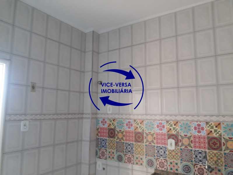 14_cozinha - Apartamento tipo casa em Cascadura, próximo À Rua Carolina Machado (estação), sala e quarto com quarto de empregada - 56m² - 1370 - 15