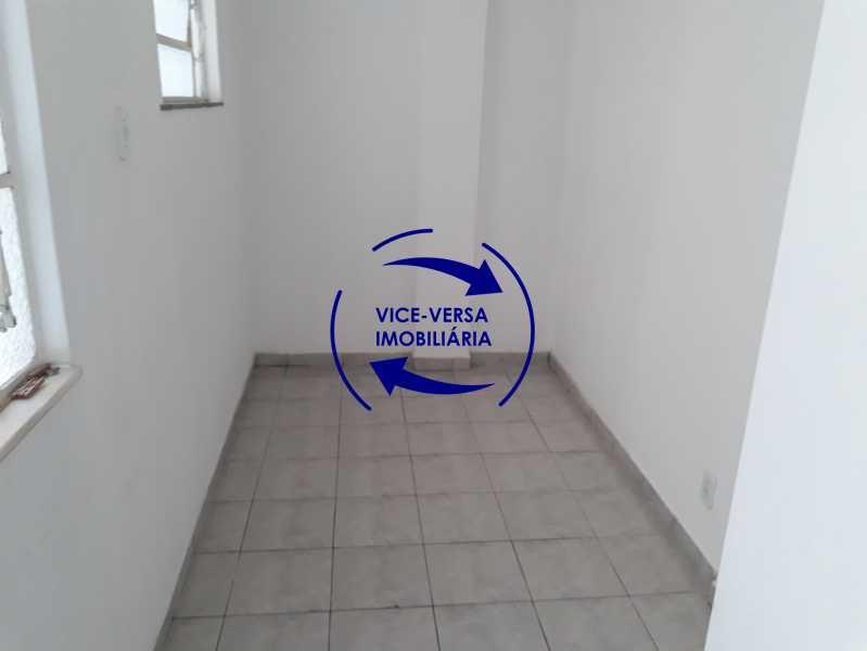 15_quarto_empregada - Apartamento tipo casa em Cascadura, próximo À Rua Carolina Machado (estação), sala e quarto com quarto de empregada - 56m² - 1370 - 16