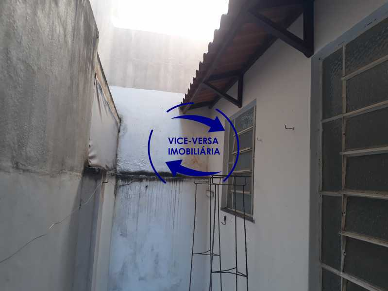 19_área_externa - Apartamento tipo casa em Cascadura, próximo À Rua Carolina Machado (estação), sala e quarto com quarto de empregada - 56m² - 1370 - 19