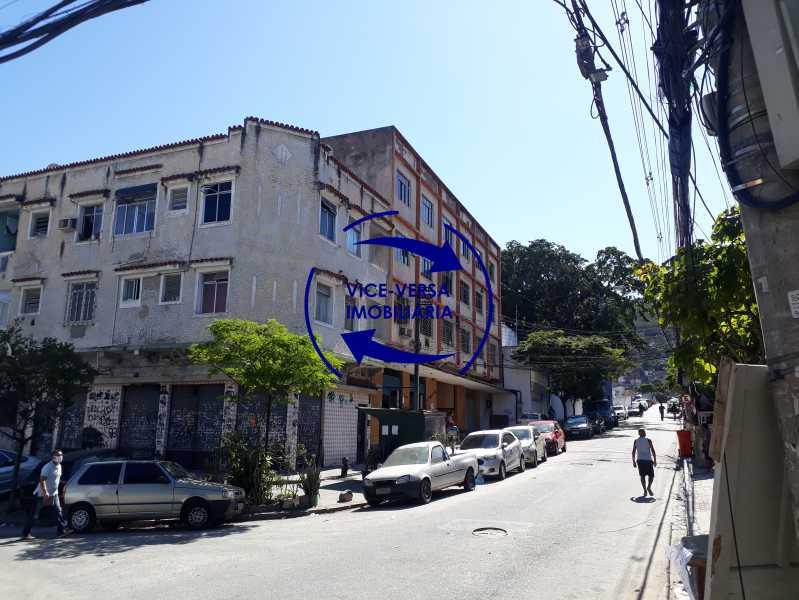 21_fachada_externa - Apartamento tipo casa em Cascadura, próximo À Rua Carolina Machado (estação), sala e quarto com quarto de empregada - 56m² - 1370 - 21