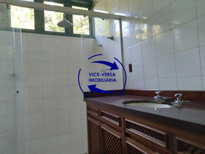 Banheiro - Ótima casa na parte nobre da Gávea em condomínio fechado no meio do verde com 308m² - 1377 - 20
