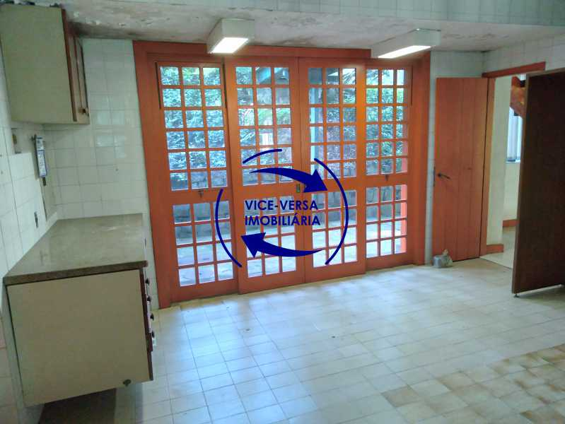 Cozinha - Ótima casa na parte nobre da Gávea em condomínio fechado no meio do verde com 308m² - 1377 - 26